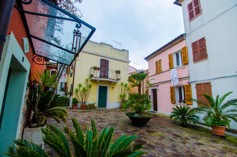 Sirolo Häuser