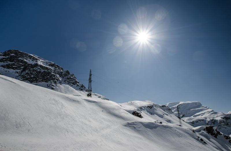 Schnee Livigno