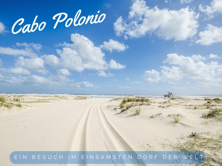 Cabo Polonio Strand