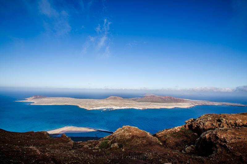 Aussicht Mirador del Rio Lanzarote