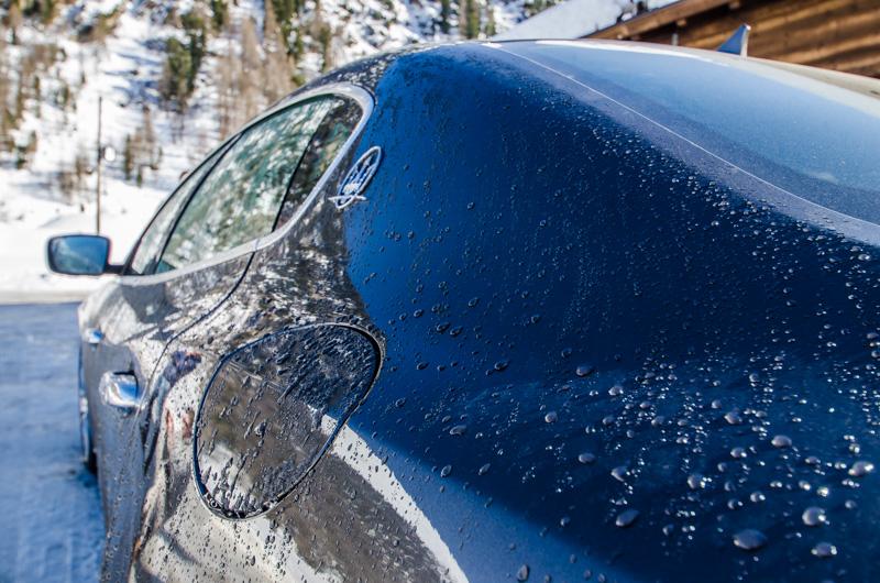 Ice Driving Maserati
