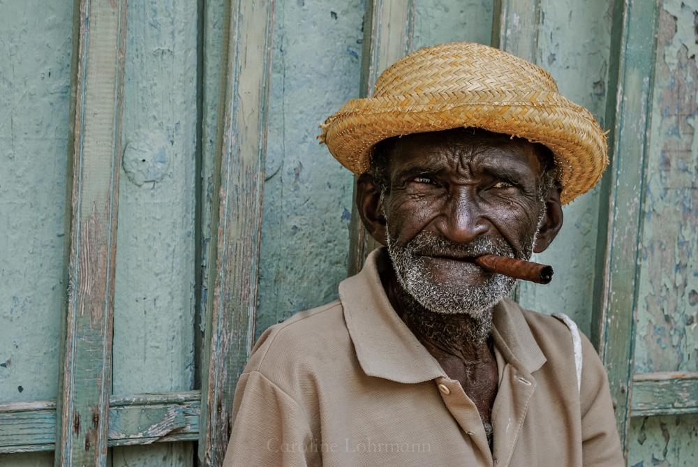 alter Mann, Trinidad, Kuba