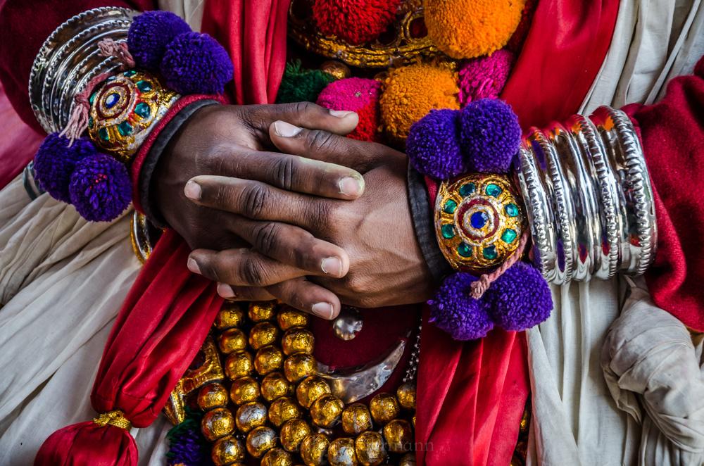 Hände Kerala Indien
