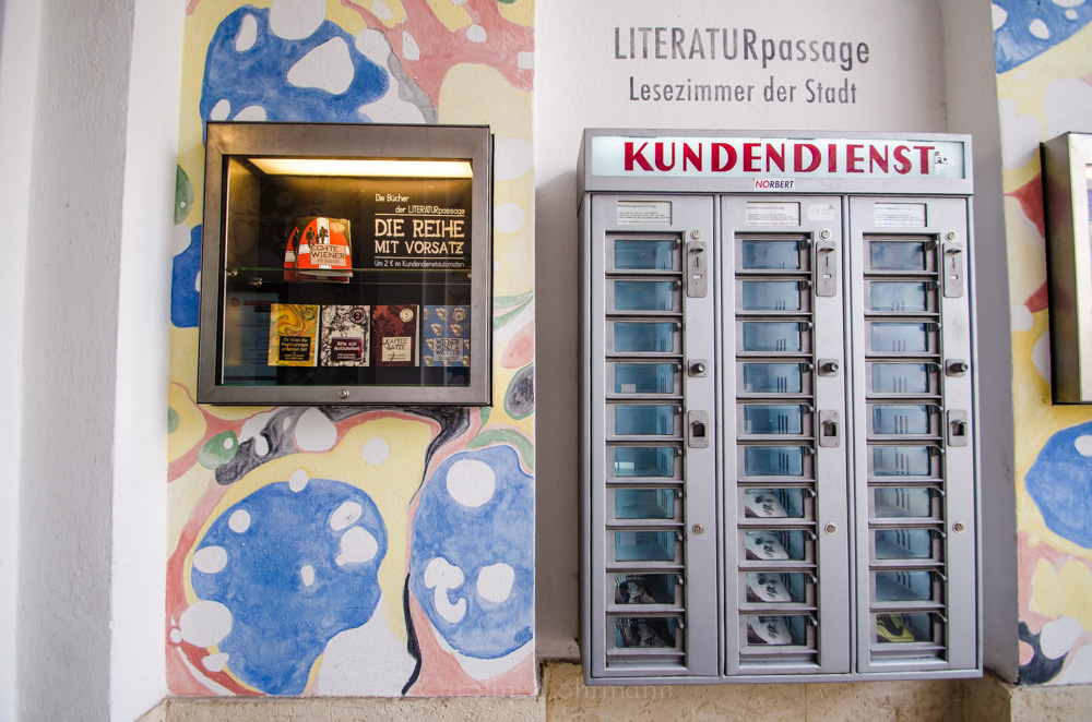 Bücherautomat Wien