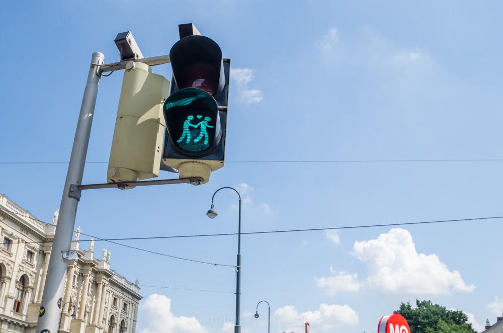 Ampelmännchen Wien
