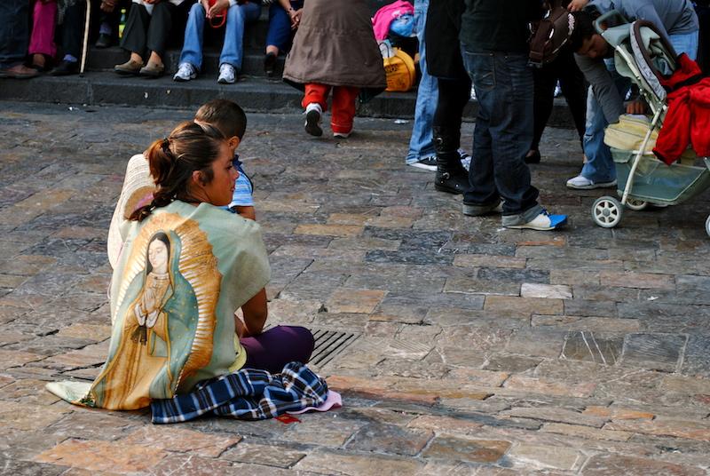 Umhang Virgen de Guadalupe