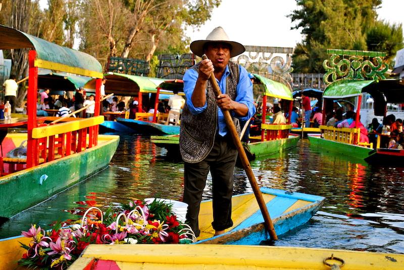 boot xochimilco