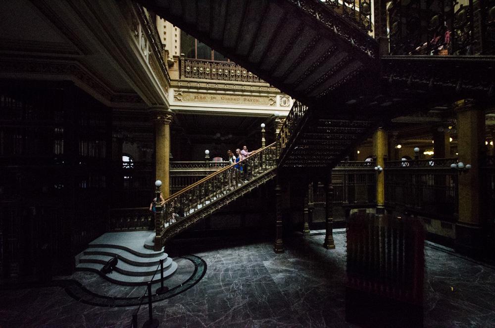 palacio postal treppe