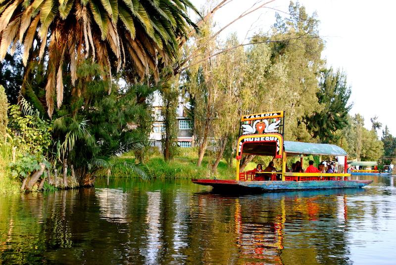 xochimilco Bootsfahrt