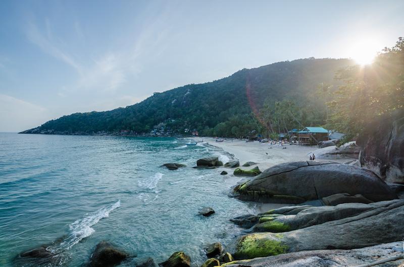 haad yuan beach ko phangan