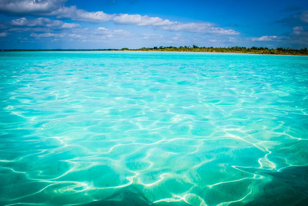 Laguna 7 colores Mexiko