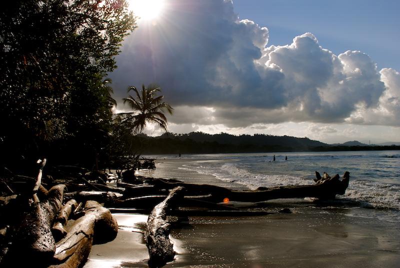 Strand Cahuita Costa Rica